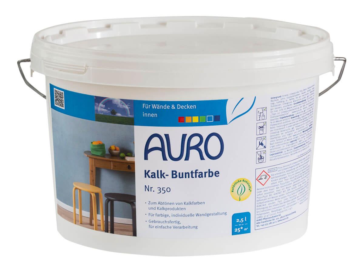 AURO Kalk-Buntfarbe Nr. 350 - 2,5 L