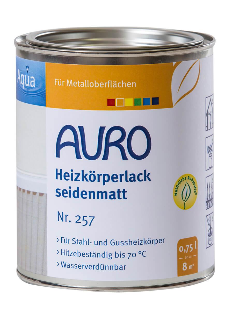 AURO Heizkörperlack, seidenmatt Nr. 257